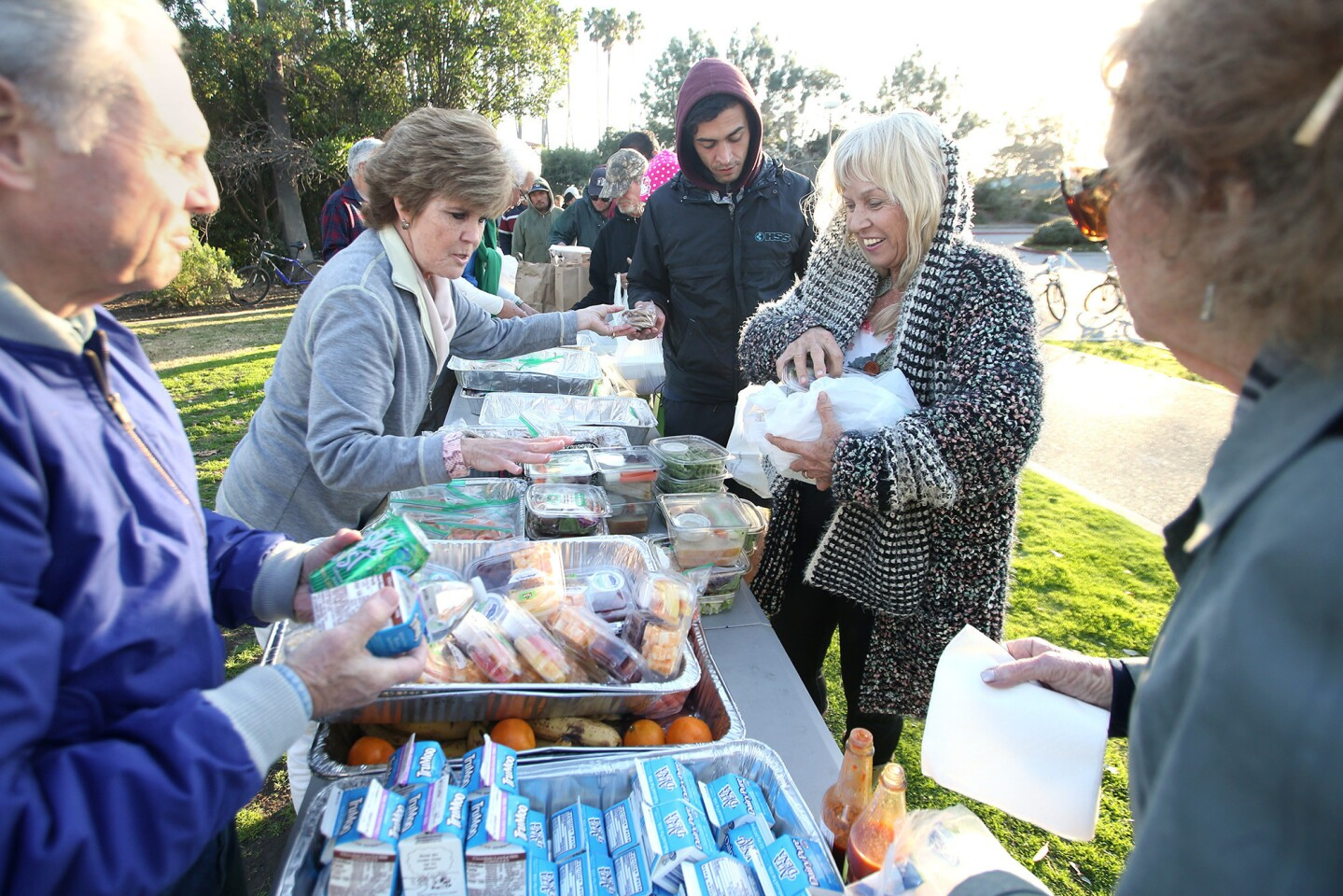 The Welcome Inn meal service at Doheny State Beach