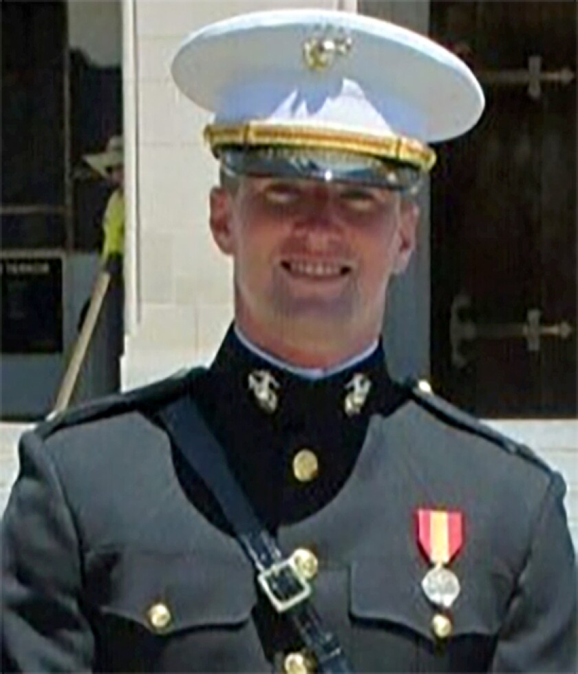 1st. Lt. Hugh C. McDowell was killed Thursday when a Light Armored Vehicle he was riding in was in an accident at Marine Corps Base Camp Pendleton.