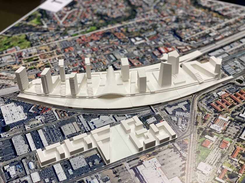 3D model of NAVWAR redevelopment