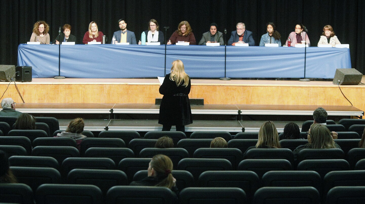 Photo Gallery: Second meeting to discuss with community the name change of David Starr Jordan Middle School