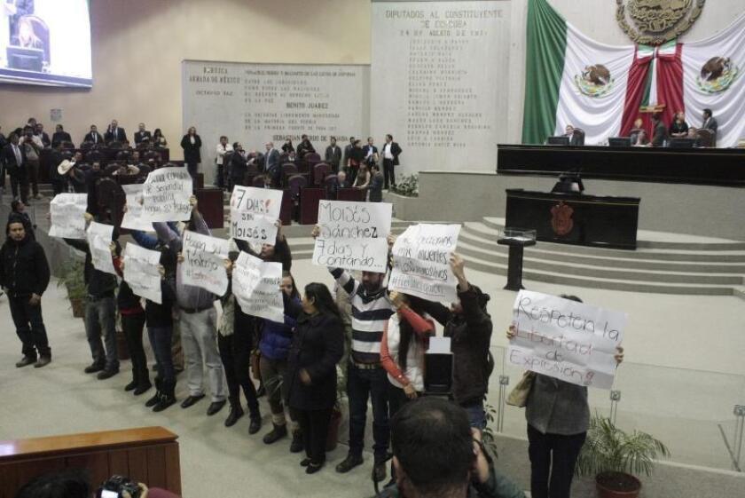 Congreso de Veracruz en México destituye temporalmente al fiscal estatal