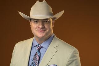 As J. Paul Getty's 'handyman,' Brendan Fraser builds 'Trust' with the audience
