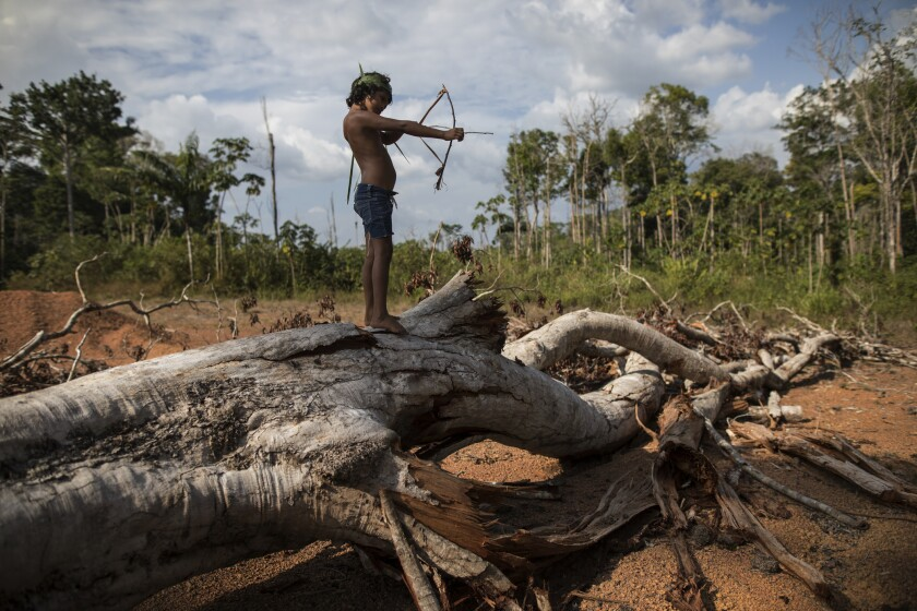 Brazil Amazon Tembe Daily Life