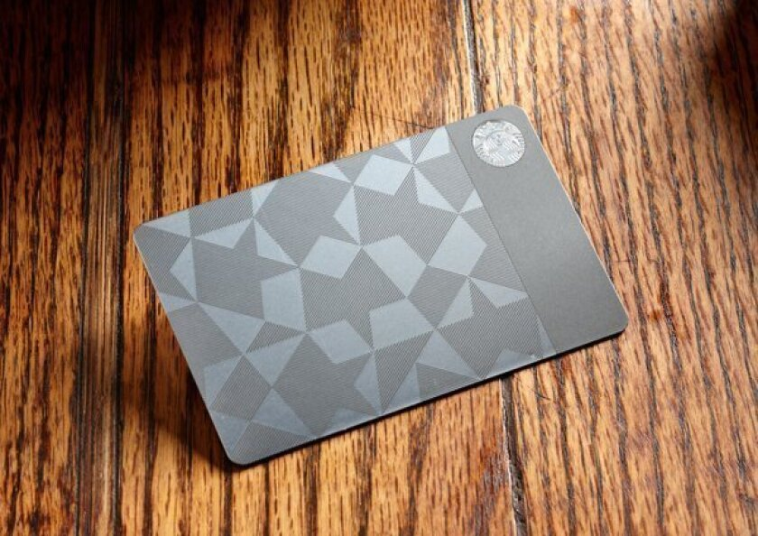 Perfect for that Starbucks lover? $450 stainless steel gift card