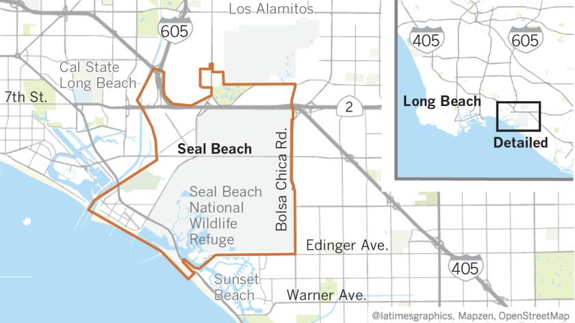 Neighborhood Spotlight: Seal Beach has a Mayberry feel but an ... on leisure world maryland map, leisure world laguna woods map, l a county earthquake fault map, leisure world california, long beach new york map, va long beach campus map,