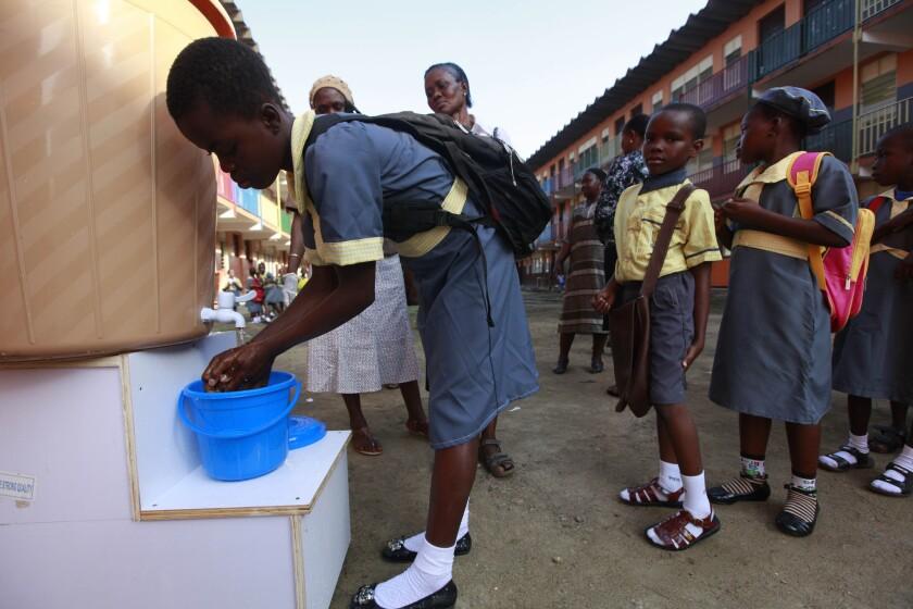 Ebola testing in Nigeria