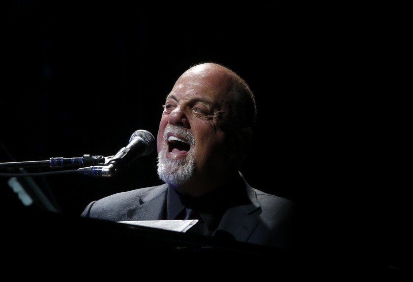 Billy Joel, seen performing at the Hollywood Bowl in May, will receive the Library of Congress Gershwin Prize for Popular Song.