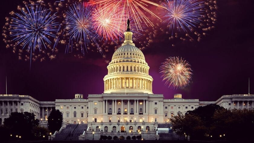 """Fireworks will light up the sky over Washington, D.C., in this year's edition of """"A Capitol Fourth"""" on KOCE."""