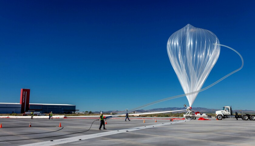 World View conducts inaugural Stratollite launch from Spaceport Tucson