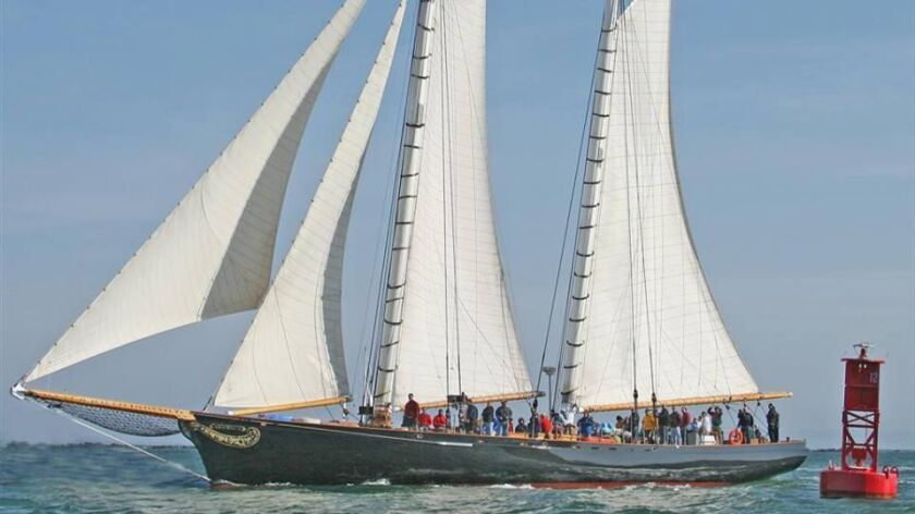 America, the replica sailing yacht owned by Next Level Sailing and Troy Sears, has been on an America's Cup Tour of the Gulf states and East Coast,