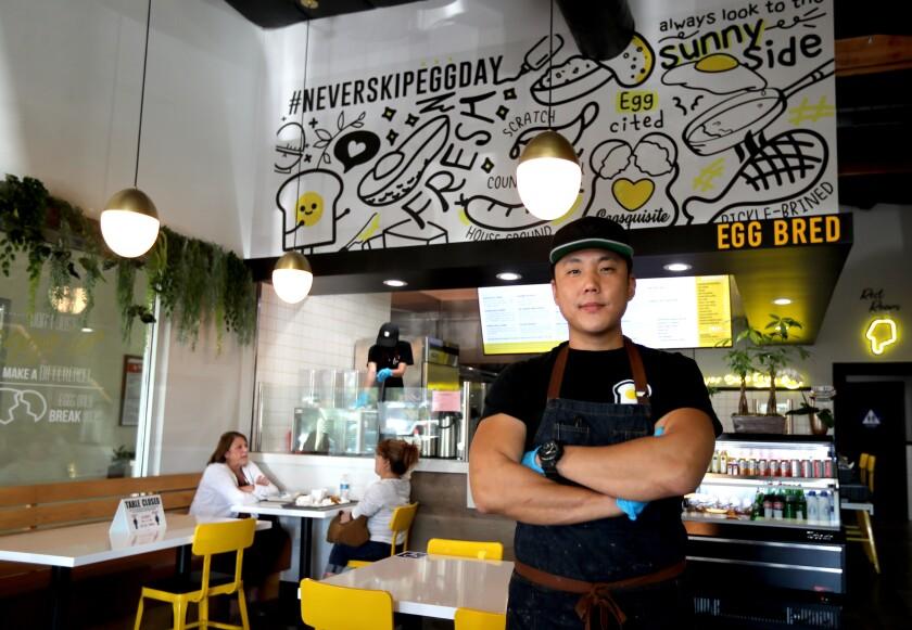 Eggbred owner Albert Shim