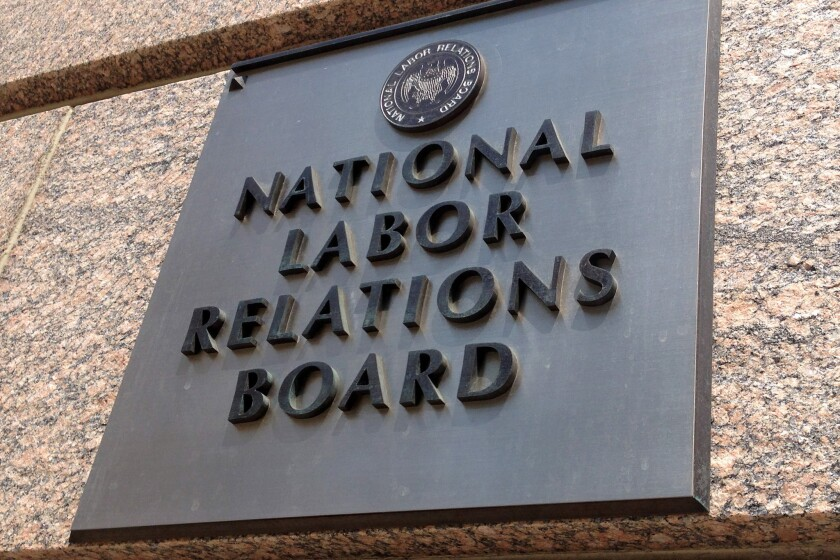 National Labor Relations Board reached two decisions this week that could speed up union-organizing drives.