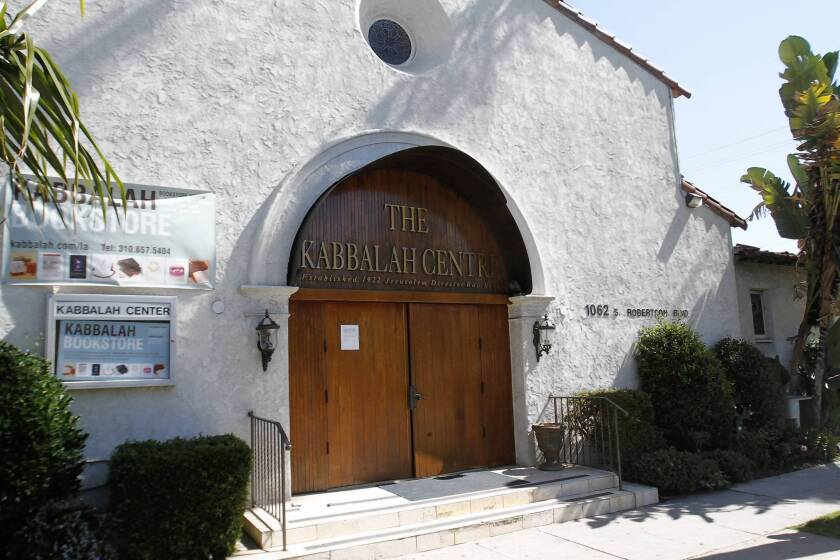 Two lawsuits accuse the Kabbalah Centre of misusing more than $1 million in donations meant for a building in San Diego that was never built and a charity that suddenly ceased operation.