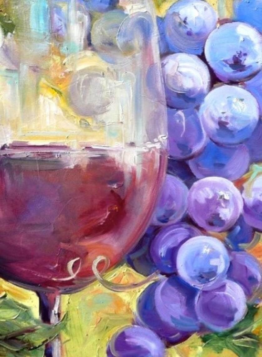 'Art of Wine & Water Reception'