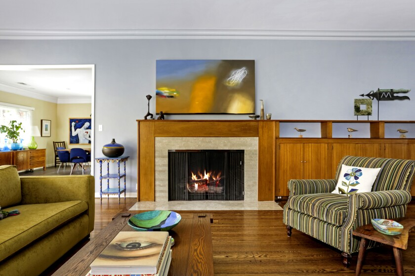 The 3,716-square-foot Home of the Week in Los Feliz has a hip vibe.