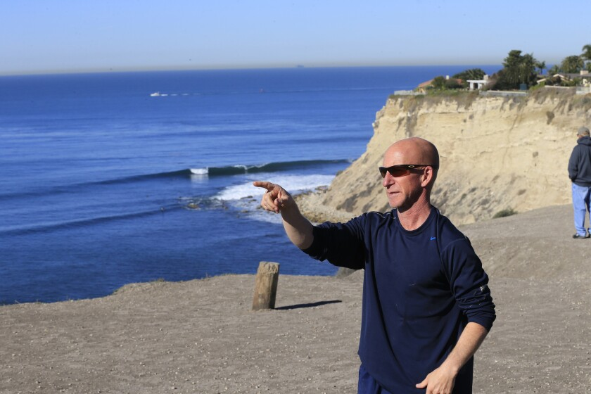 El Segundo police Officer Cory Spencer is the lead plaintiff in a class-action lawsuit against the Bay Boys surfer gang and the city of Palos Verdes Estates.