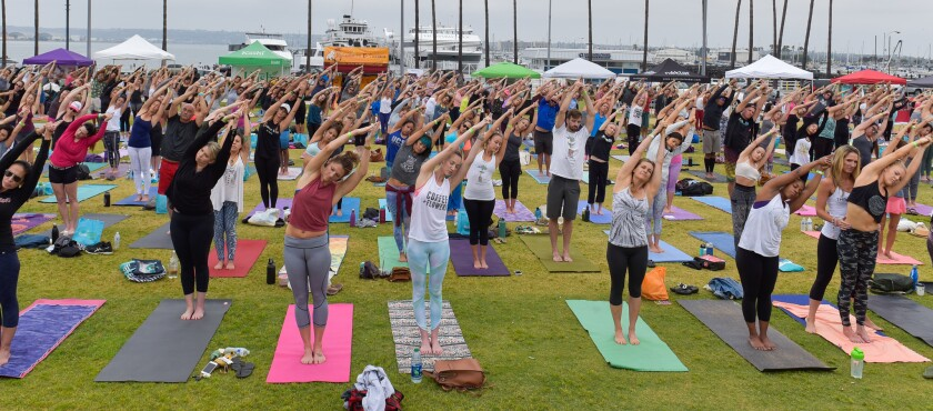 One Love Seventh annual Charity Yoga Event