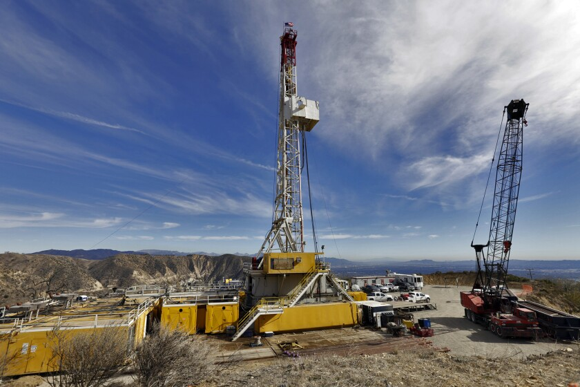 Crews in February drilled a relief well to stem the flow of methane gas from an adjacent well in the Aliso Canyon storage facility.