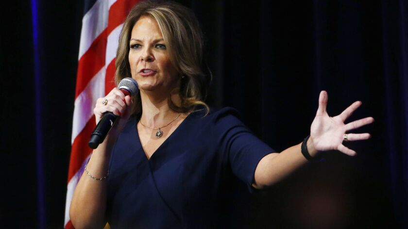 After taking on Arizona's Republican establishment, Kelli Ward is now chair of the state GOP. That makes some in the party very nervous.