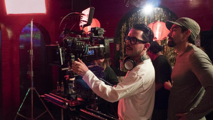 """""""La Casa de las Flores"""" is among dozens of Netflix productions filming in Mexico. Its creator, Manolo Caro, is at the camera."""