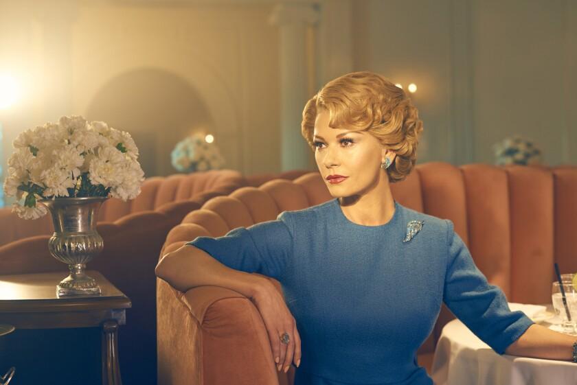 """Catherine Zeta-Jones as Olivia de Havilland in """"Feud."""""""
