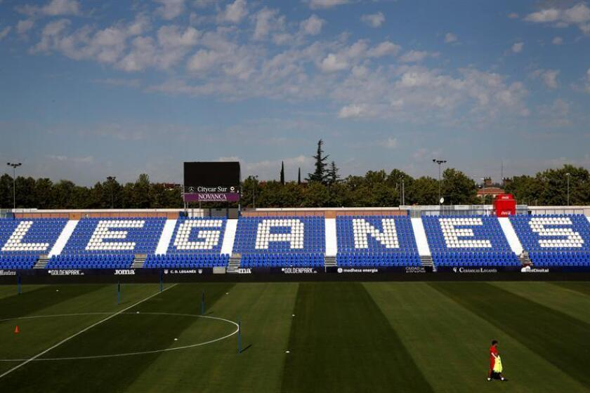 Vista del Estadio Municipal Butarque en Leganés (Madrid). EFE/Archivo