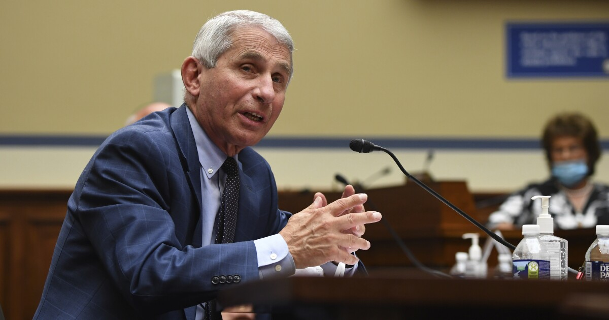 Letters to the Editor: It's time for Anthony Fauci to say what he really thinks about Trump