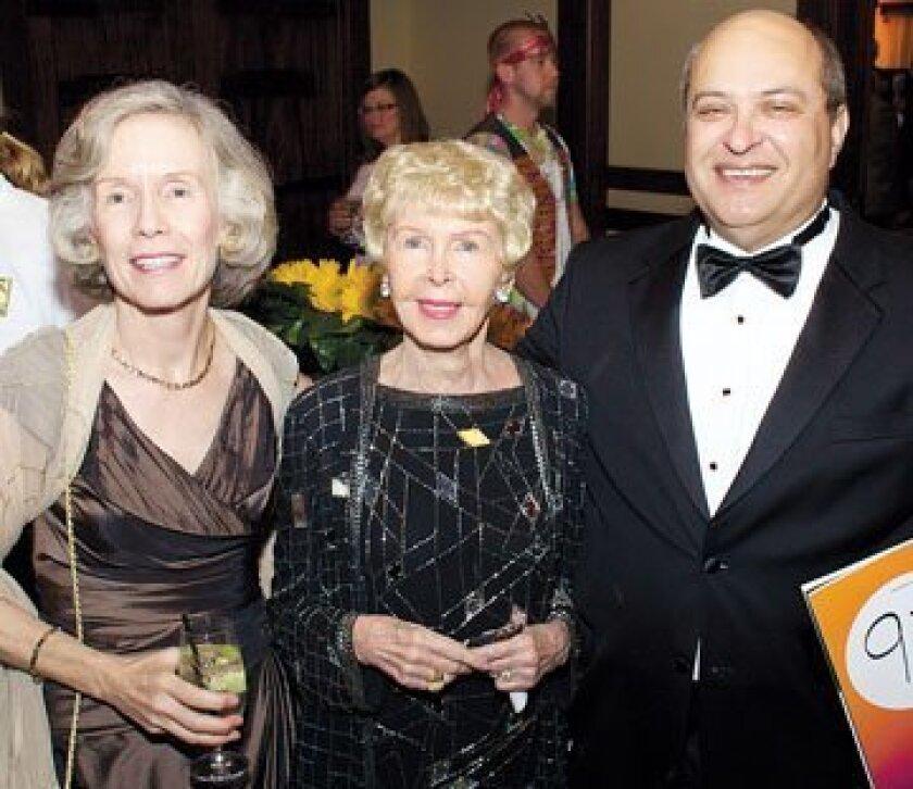 Patti Nussbaum, Audrey Geisel and Mark Nussbaum. Photos: Courtesy