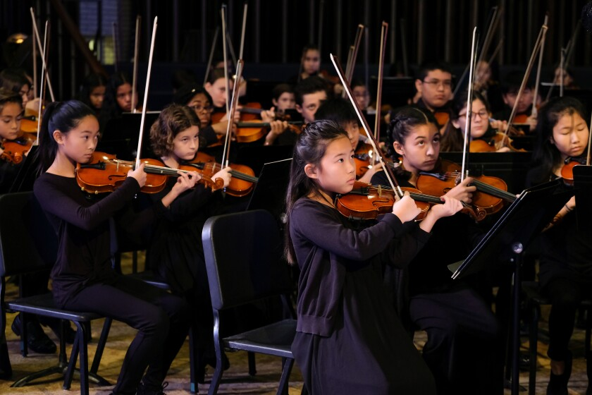 The San Diego Youth Symphony