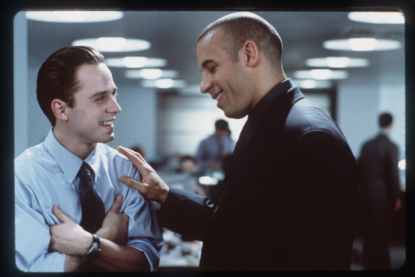 """Giovanni Ribisi and Vin Diesel starred in """"Boiler Room,"""" a 2000 movie about disreputable stockbrokers."""