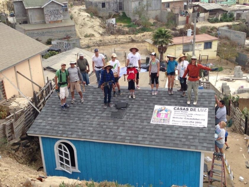 The next home build for Casas de Luz in Tijuana will be April 25-26. By the end of fall, the organization will have built 40 homes since its founding.