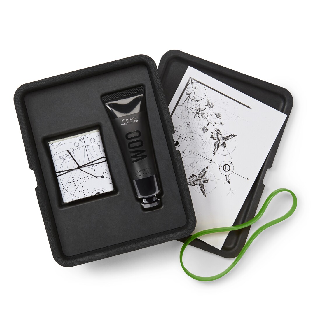 The Woo Skin Essentials After/Care Treatment Kit, $42.