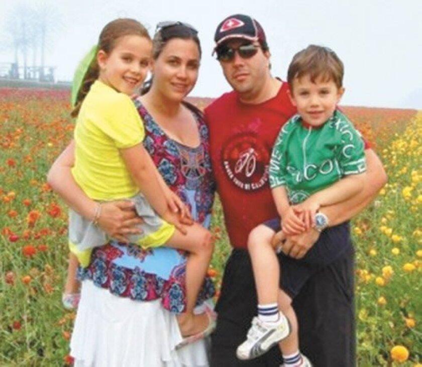 Juan Carlos Vinolo and his family.