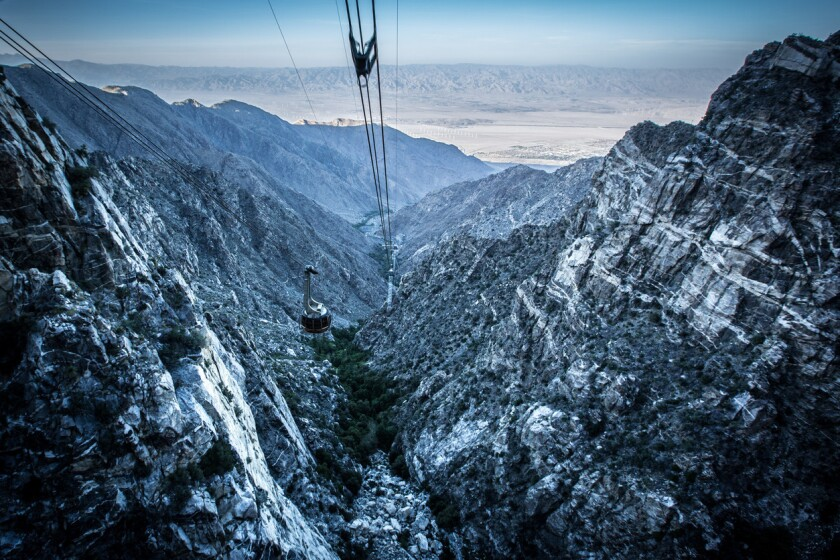 Mount San Jacinto tram.