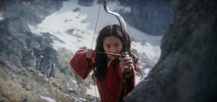"Scene from the Disney movie ""Mulan."""