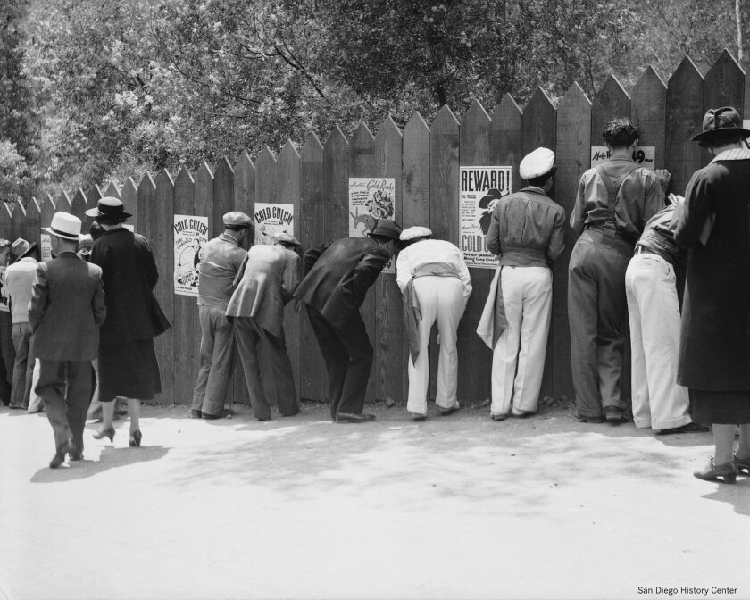 """Zoro Garden was a top draw at the California Pacific International Exposition in 1935, attracting about 360,000 attendees to the 20- minute """"Ceremony of the Sun God"""" show run five times daily (not counting people looking through peepholes in the wooden fence). It was the home of a nudist colony"""