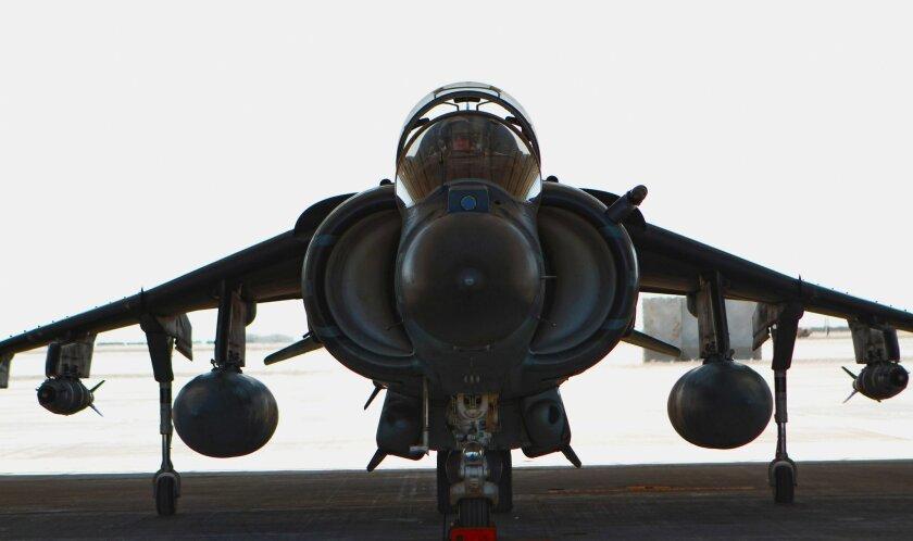 Yuma-based VMA-211 relocated its Harrier AV-8B jump jets from Kandahar to Bastion air field July 1.