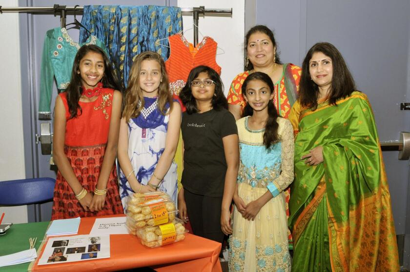 India representatives Brinda. Tamar, Amisha, Esha, Mukundan Madhu, Aparna Vaidya
