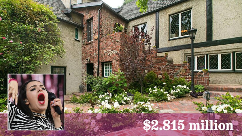 The 1920s Tudor home purchased by singer-songwriter Charli XCX is charming and quirky -- perfect for a rock star.