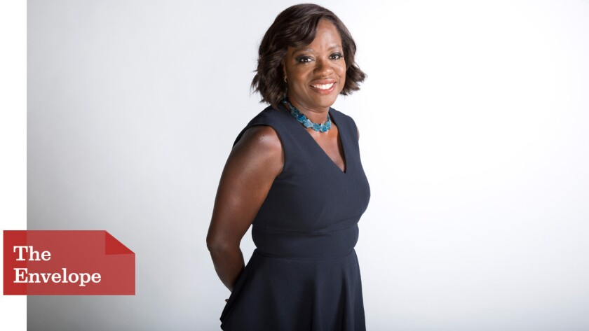 """Actress Viola Davis, who stars as Annalise Keating in """"How to Get Away With Murder,"""" is nominated for an Emmy."""