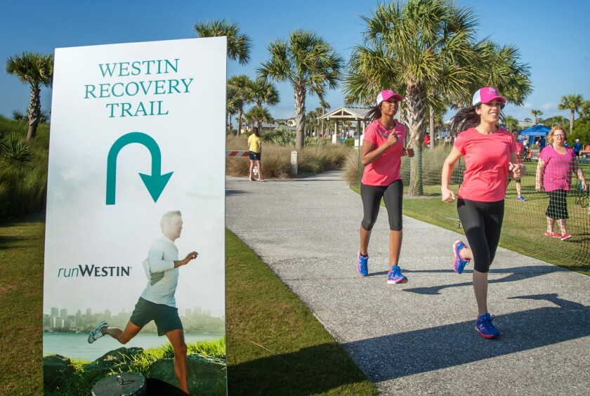 The Westin hotel chain is staging an international series of well-being retreats focused on topics like running.