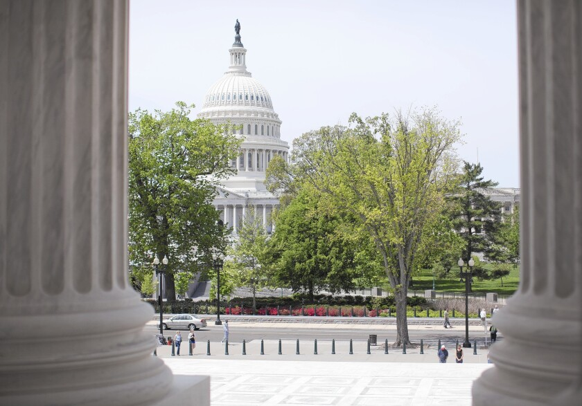 Partisan warfare Capitol Hill is affecting homeowners' plans to do short sales this year. Above, the U.S. Capitol.