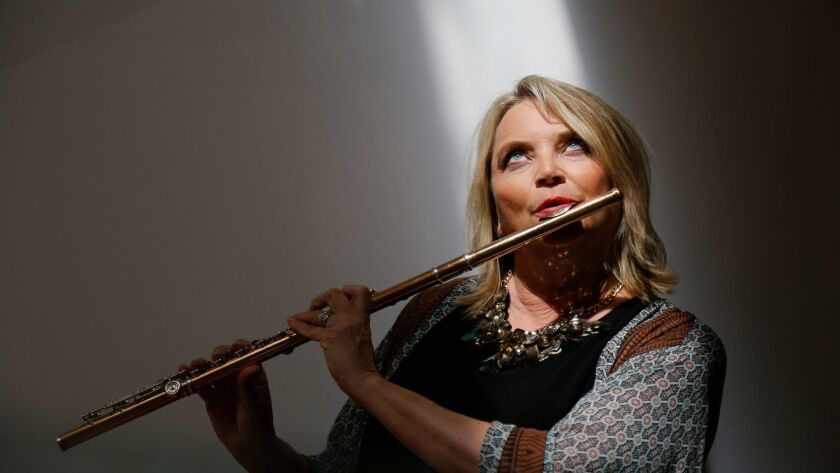 SAN DIEGO, CA: AUGUST 31, 2017 | Beth Ross Buckley, flutist and Artistic Director of Camarada Classi