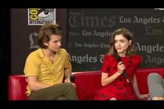"""""""Stranger Things"""" Cast At Comic-Con 2017"""