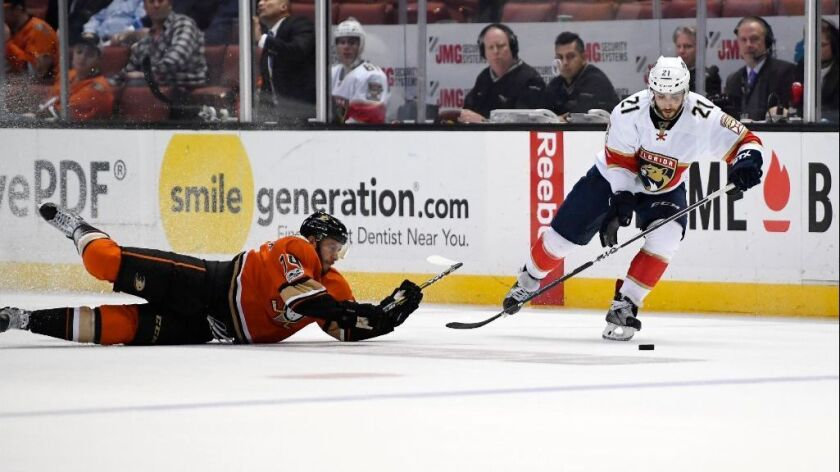 What we learned from the Ducks' 4-1 loss to the Florida Panthers