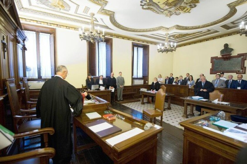 The trial of Pope Benedict XVI's former butler, Paolo Gabriele, gets underway in a Vatican courtroom.