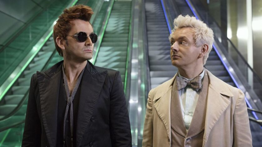 Oops: Outraged Christians petition Netflix to cancel supernatural series 'Good Omens' -- which runs on Amazon Prime