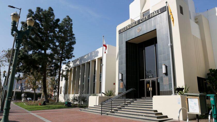 Glendale City Hall, on Thursday, Jan. 18, 2018.
