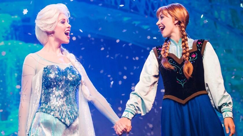 20) 'Frozen' musical