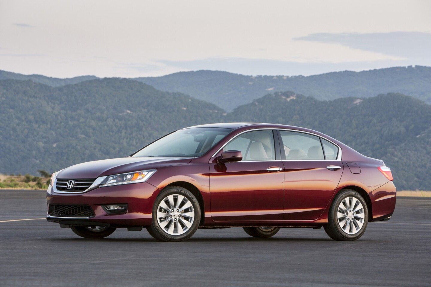 The Honda Accord was the passenger car that was most likely to have more than 200,000 miles on the odometer when offered for resale -- 1.6%, according to iSeeCars.com, a used-car information site.